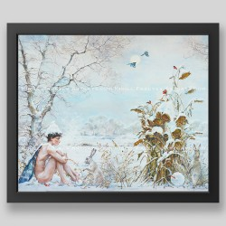 """Four seasons. Winter"" print"