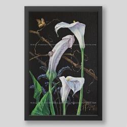 """Spring surge"" print"