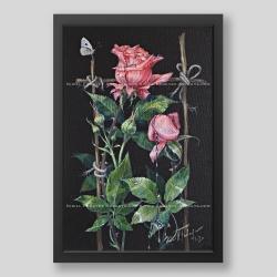 """""""Roses"""" print"""