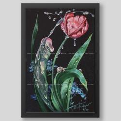 """""""Spray of love"""" print"""