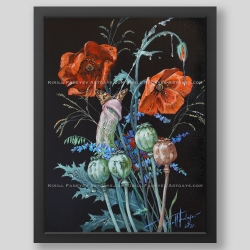 """Summer fantasies"" print"