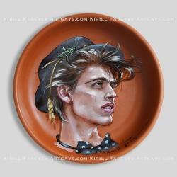 "Plate 32 ""Grasshopper"""