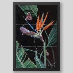 """""""Exotic fantasies"""" print"""