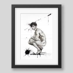"""Blur"" graphic/print"