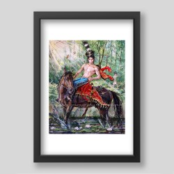 """Horseman"" print"