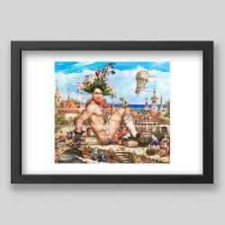 """""""Gulliver II"""" print"""
