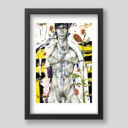 """Wasp sting"" print"