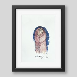 """""""Sleep"""" painting/print"""