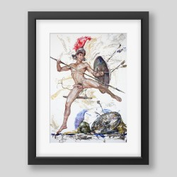 """Young Roman"" print"