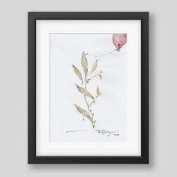 """Leaves of lust"" print"
